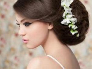 model cheveux pour mariage