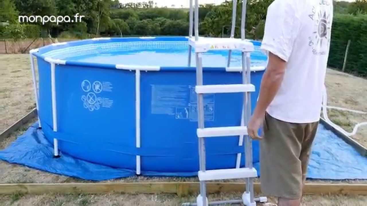 montage piscine tubulaire intex