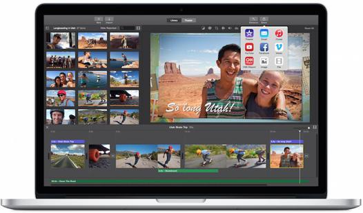 montage video macbook air