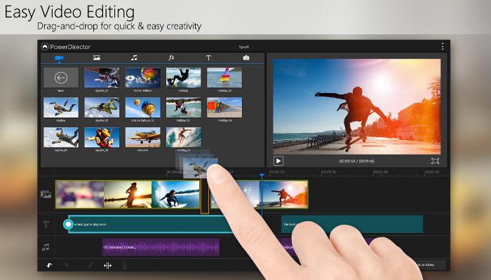 montage video samsung