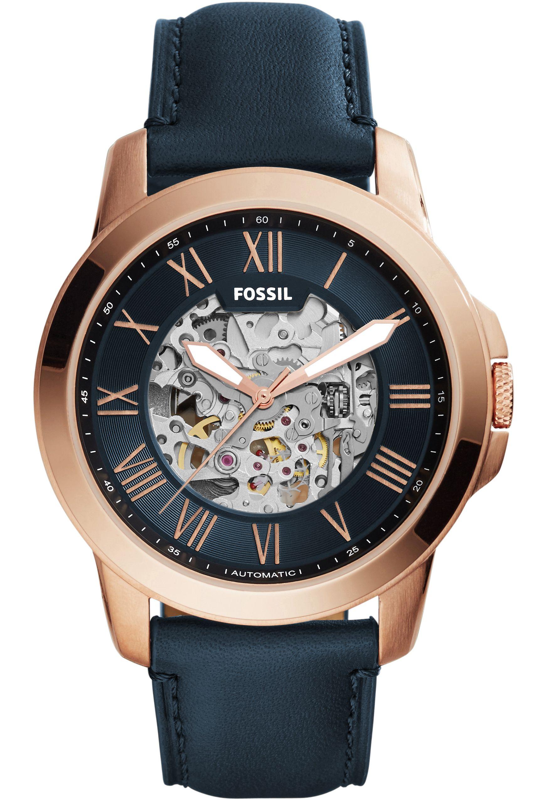 montre automatique fossil