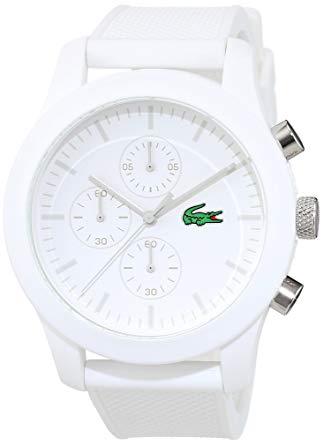 montre blanche homme