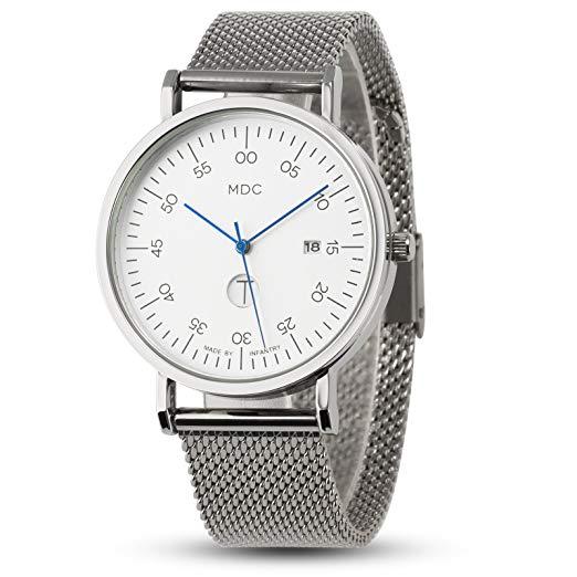 montre bracelet argent homme