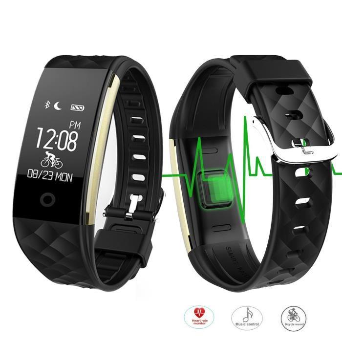 montre cardio connectée