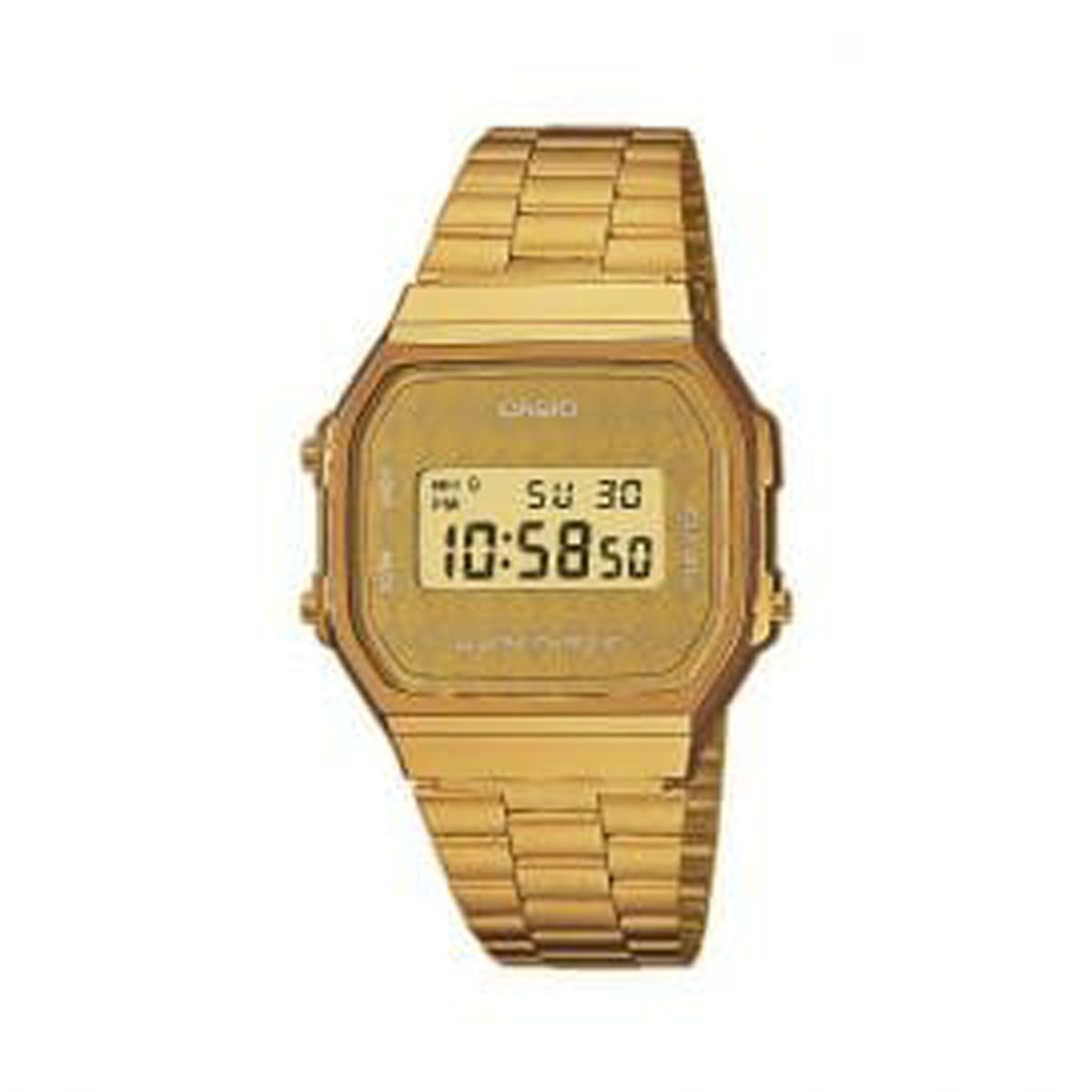 montre casio or homme