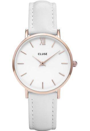 montre cluse blanche