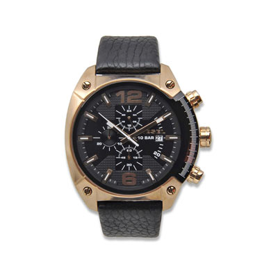 montre diesel homme or rose