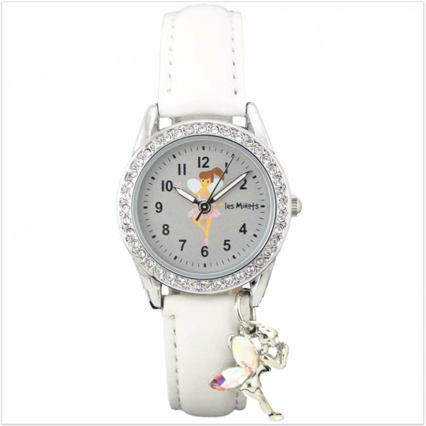 montre fille blanche