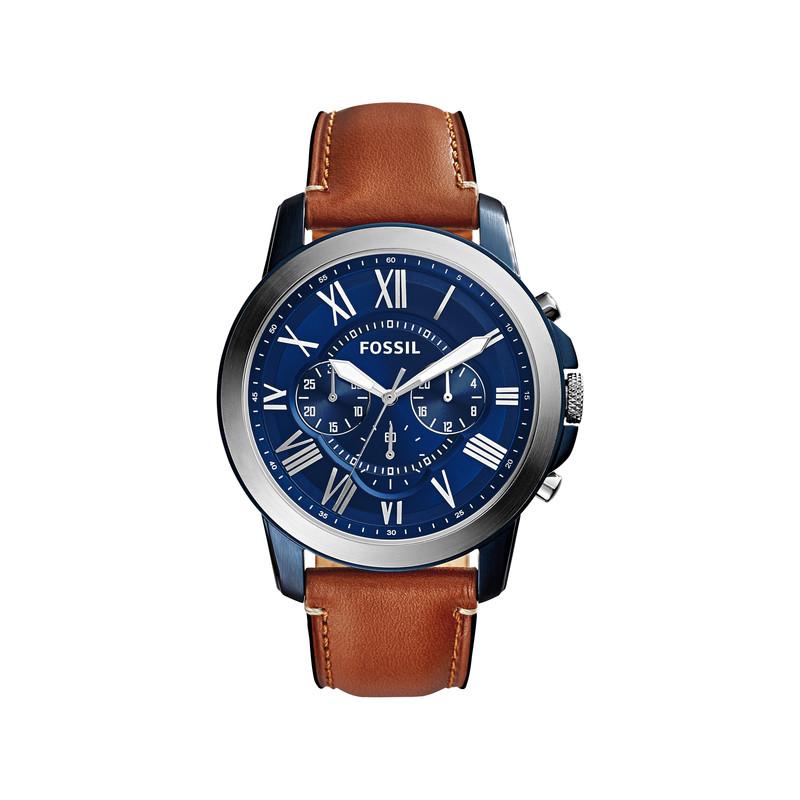 montre fossil bracelet cuir