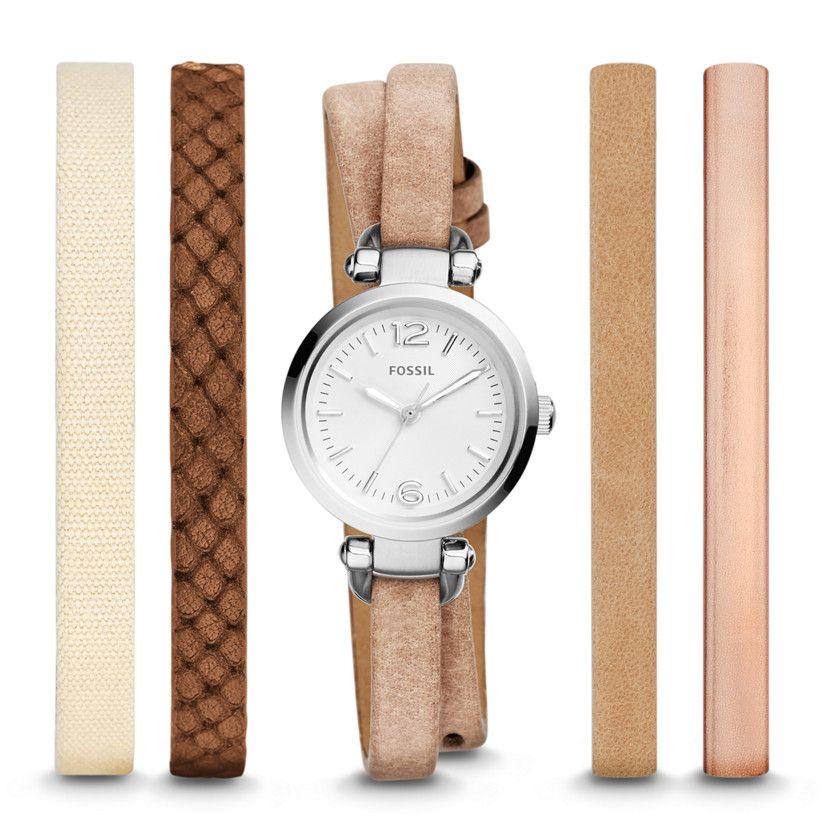 montre fossil bracelet interchangeable