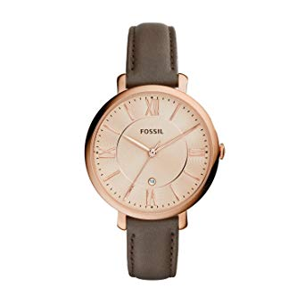 montre fossil cuir femme