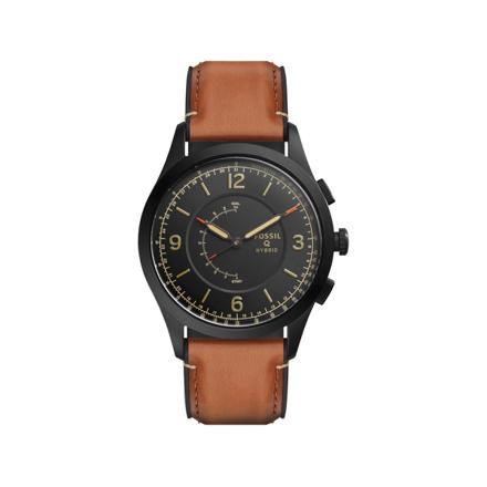 montre fossil homme cuir marron