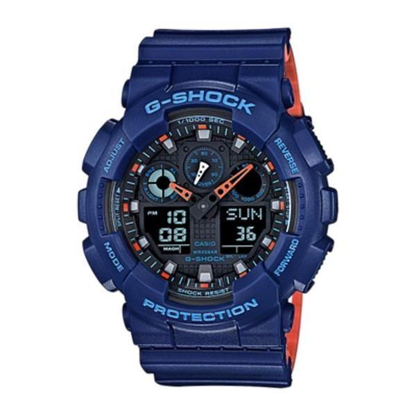 montre g shock bleu