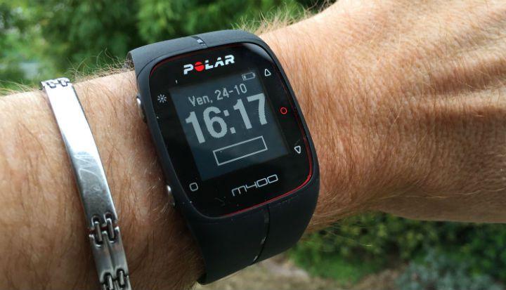 montre gps polar m400