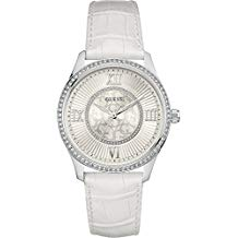 montre guess blanche