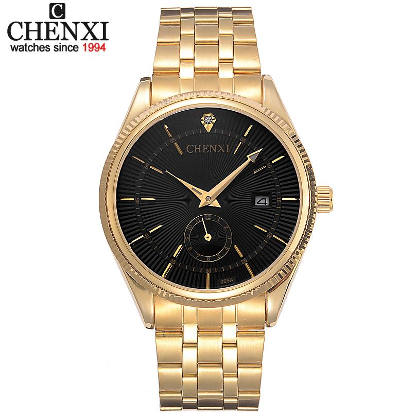 montre homme or