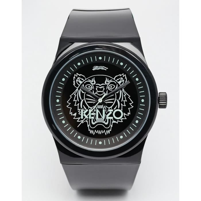 montre kenzo noir