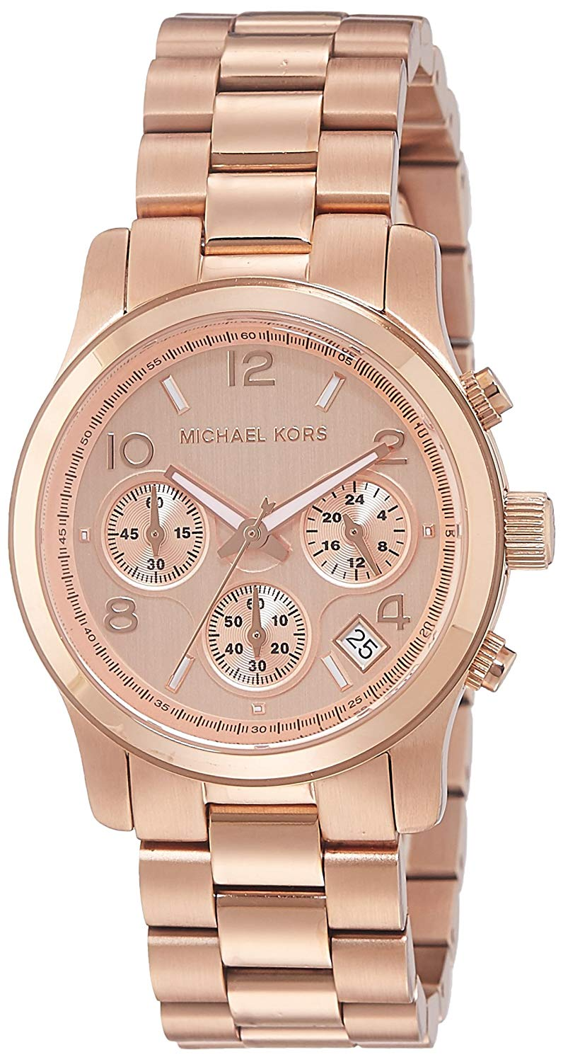 montre rose gold michael kors