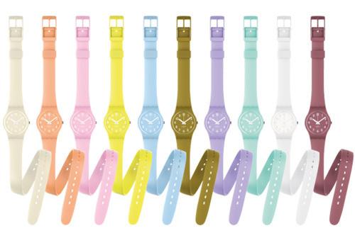 montre swatch bracelet double