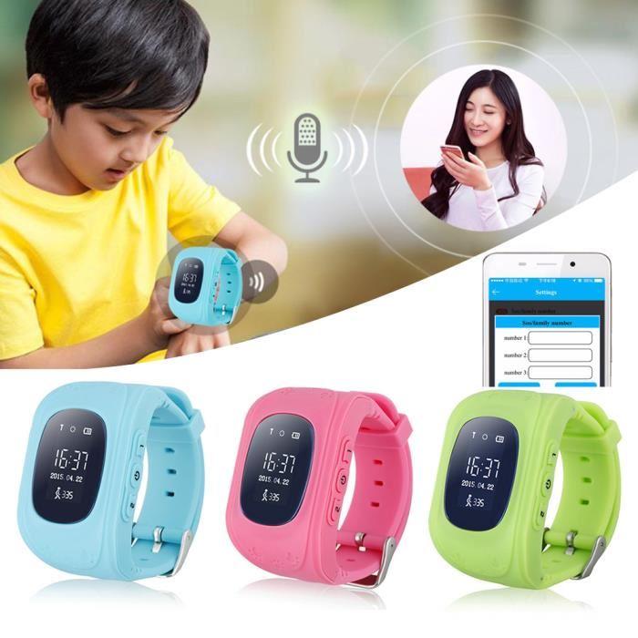 montre telephone pour enfant