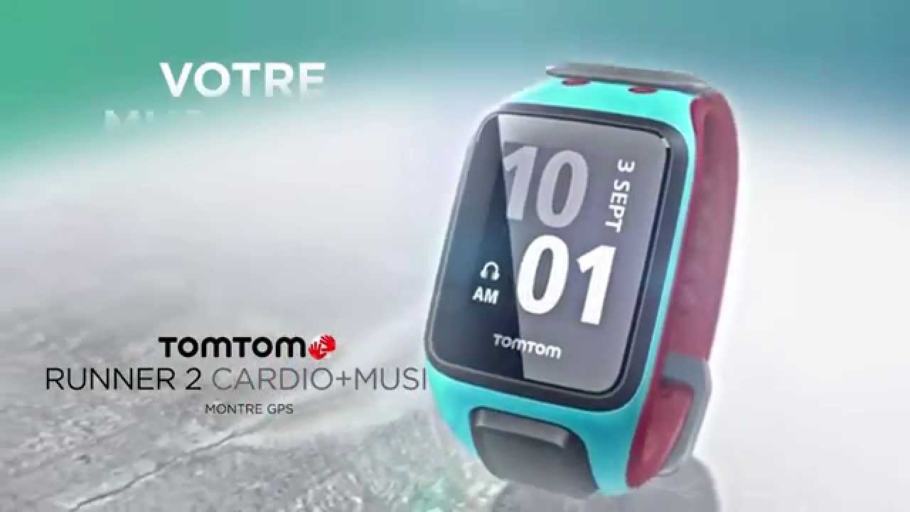 montre tom tom runner 2