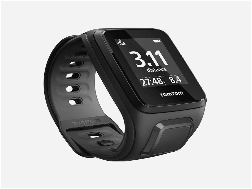 montre tomtom runner cardio music