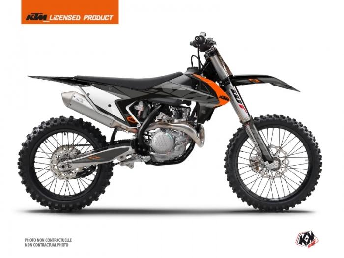 moto cross noir