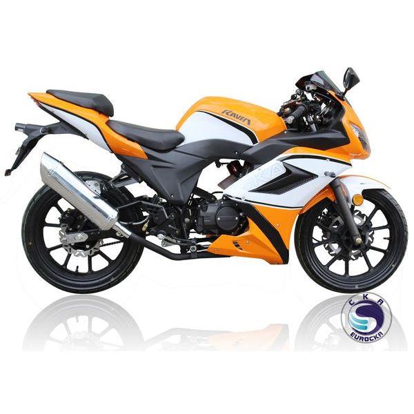 moto feu vert