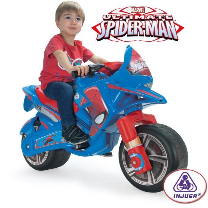 moto spiderman electrique