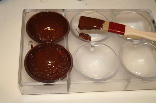moule en polycarbonate pour moulage en chocolat
