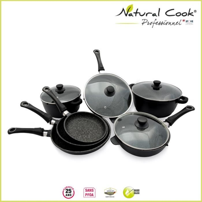 natural cook batterie
