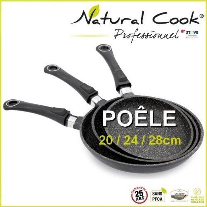 natural cook poele