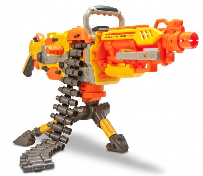 nerf mitraillette automatique