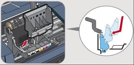 nettoyage buses imprimante canon pixma