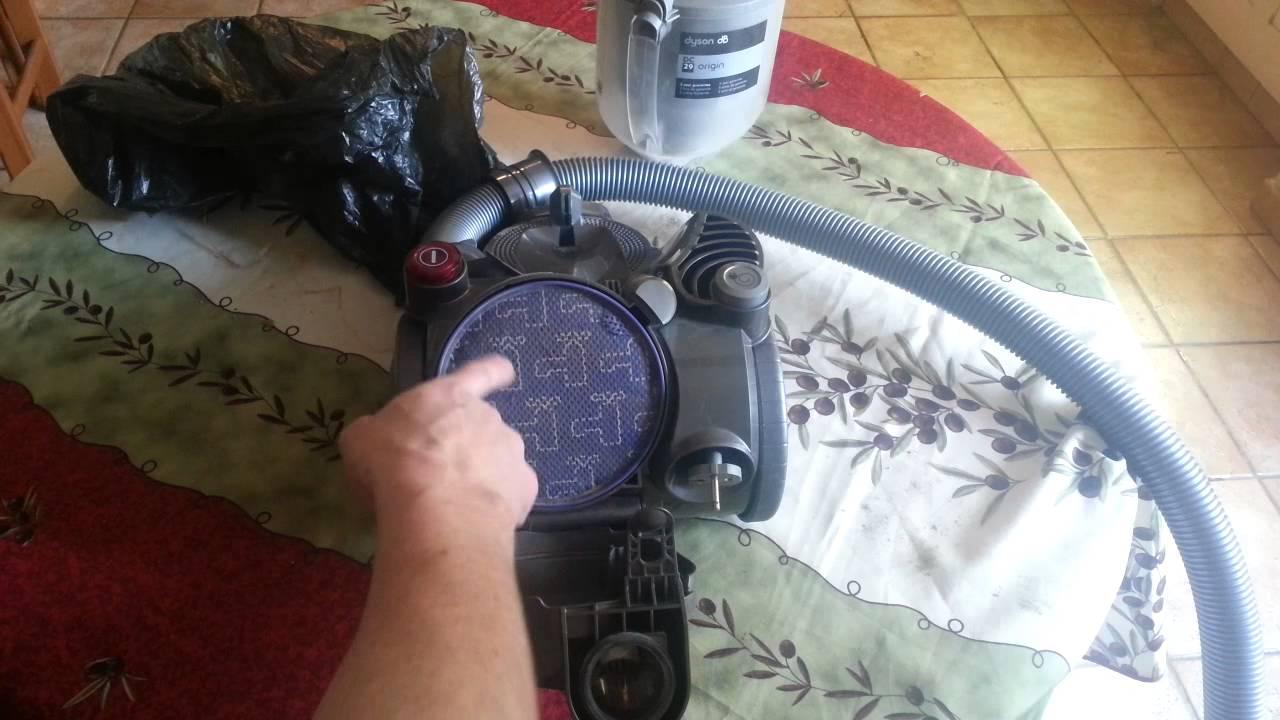 nettoyage filtre dyson dc29