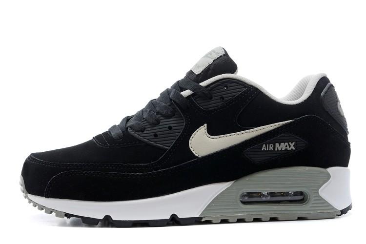 nike air max gris noir