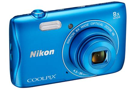 nikon coolpix bleu