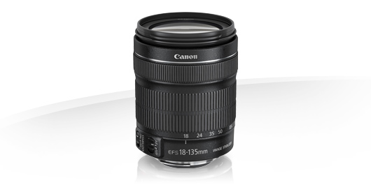 objectif canon 18-135 stm