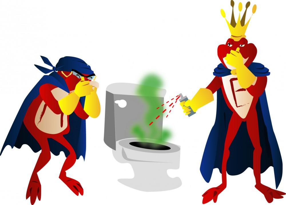 odeur toilettes