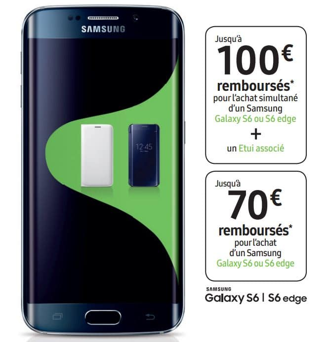 offres samsung galaxy s6