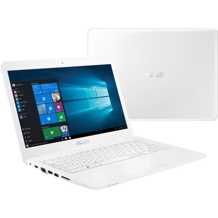 ordinateur portable blanc pas cher