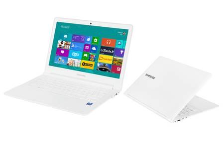 ordinateur portable samsung blanc