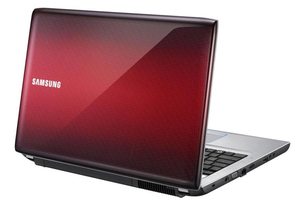 ordinateur samsung rouge