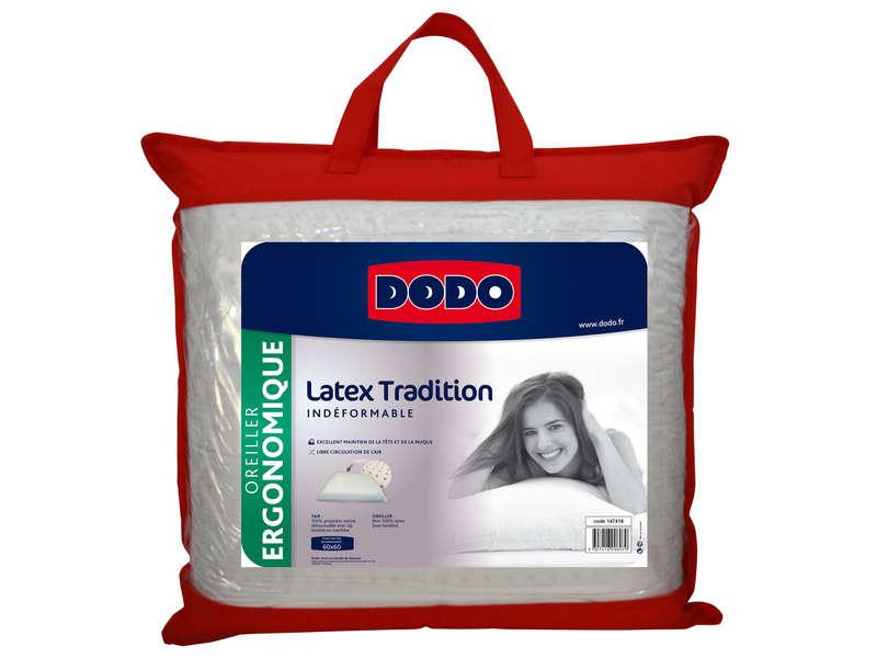 oreiller dodo latex