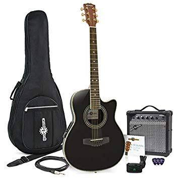 pack guitare electro acoustique ampli