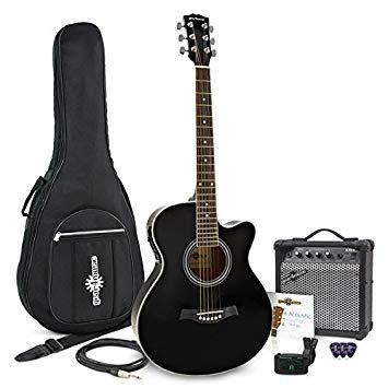 pack guitare electro acoustique ibanez