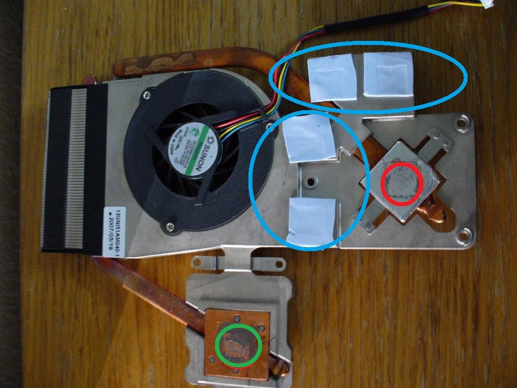 pad thermique pc portable