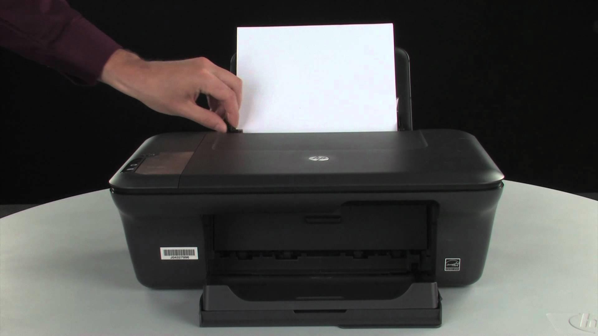 page  imprimante hp