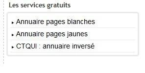 pages blanches 85