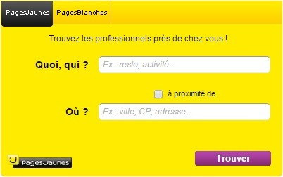 pages blanches adresse
